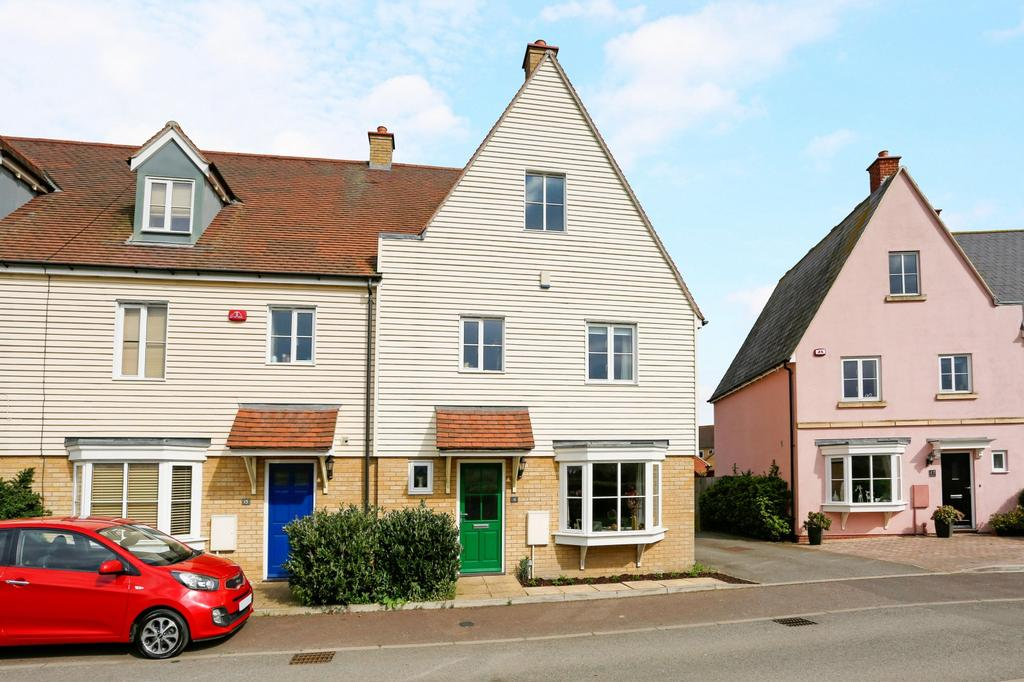 3 Bedrooms End Of Terrace House for sale in Battle Rise, Heybridge, Maldon, Essex, CM9