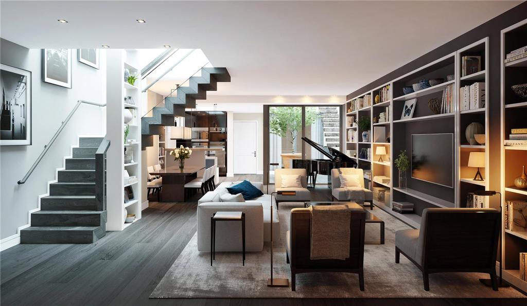 4 Bedrooms House for sale in Young Street, London, W8