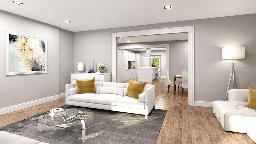3 Bedrooms Flat for sale in Main Door - Newton Terrace, Glasgow, G3