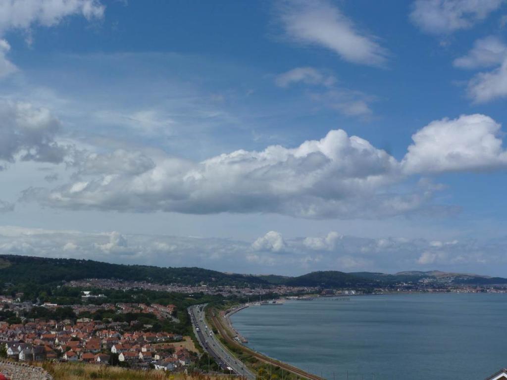 2 Bedrooms Penthouse Flat for sale in 59 Clifftops Penmaen Bod Eilias, Old Colwyn, LL29 8BL