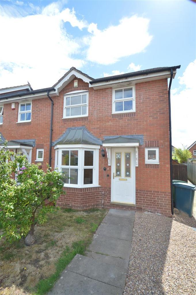 3 Bedrooms Terraced House for sale in 7 Farran Grove, Berwick Grange, Shrewsbury SY1 4YB