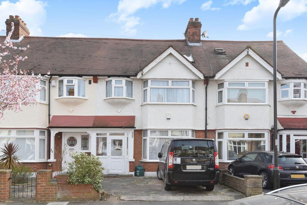 4 Bedrooms Terraced House for sale in Westcroft Gardens, Morden, SM4