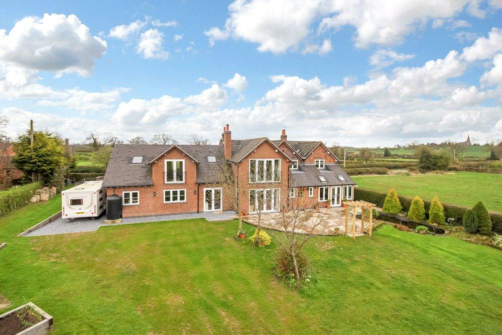5 Bedrooms Detached House for sale in Sutton-on-the-Hill, Ashbourne, Derbyshire