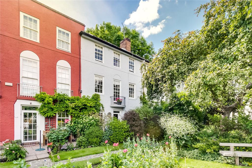 4 Bedrooms Terraced House for sale in Palliser Road, Barons Court, London