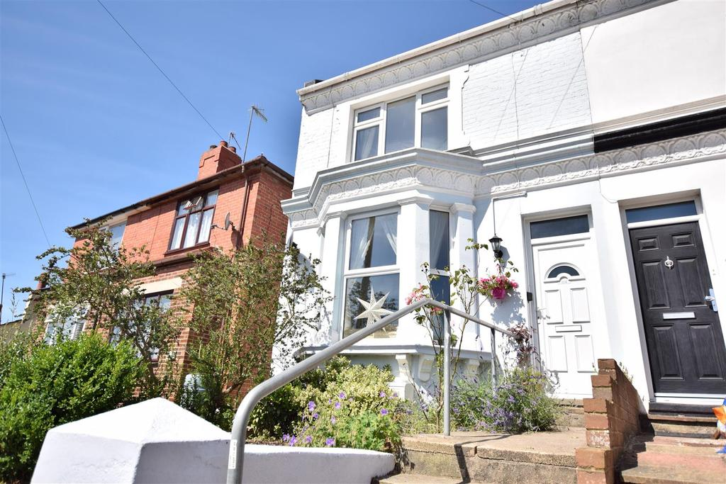 2 Bedrooms End Of Terrace House for sale in Saxon Road, Hastings