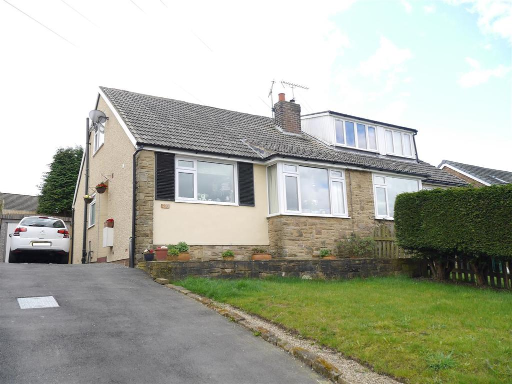 3 Bedrooms Semi Detached Bungalow for sale in Bolton Hall Road,Wrose,Bradford, BD2 1QB
