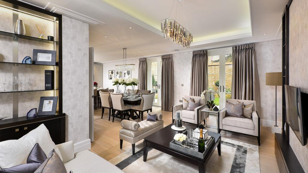 3 Bedrooms Flat for sale in Wimbledon Hill Park, London. SW20
