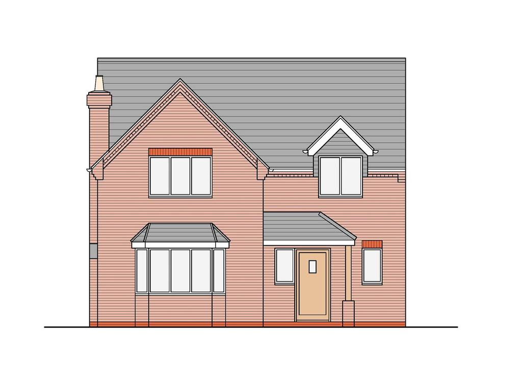 4 Bedrooms Detached House for sale in New Build, Archer Road, Waltham
