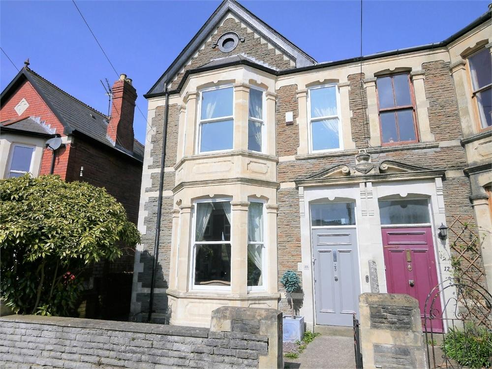 4 Bedrooms End Of Terrace House for sale in Woodland Place, Penarth