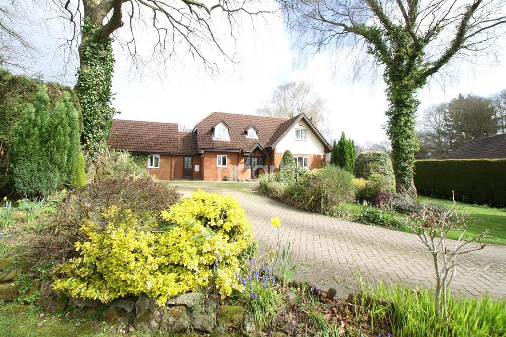 5 Bedrooms Detached House for sale in Woodlands, The Narth, Monmouthshire