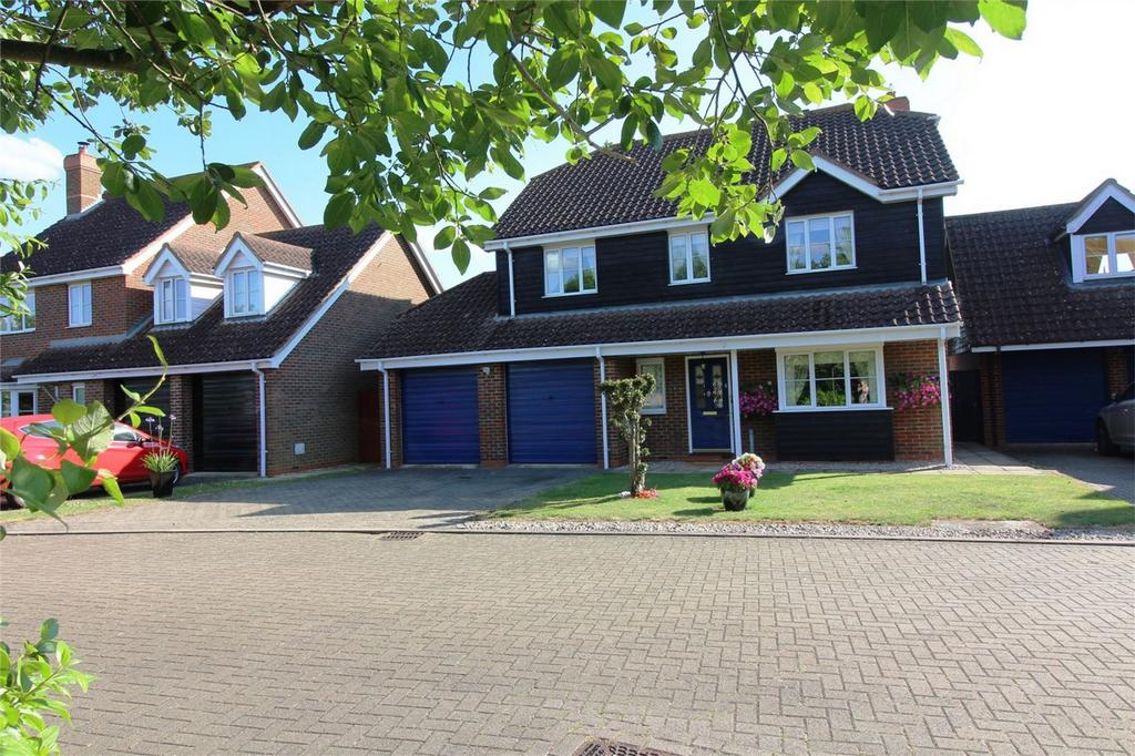 4 Bedrooms Detached House for sale in Thompsons Meadow, Guilden Morden, Royston, Hertfordshire