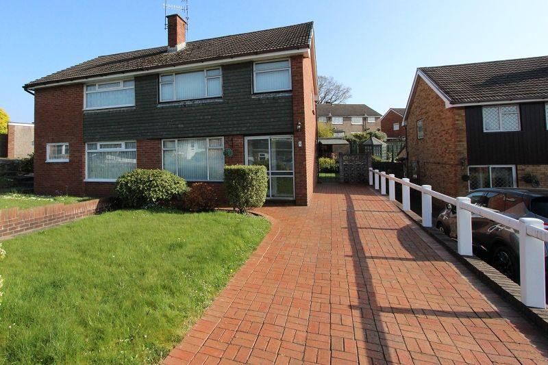 3 Bedrooms Semi Detached House for sale in Wistaria Close, Newport, Newport. NP20 6JU