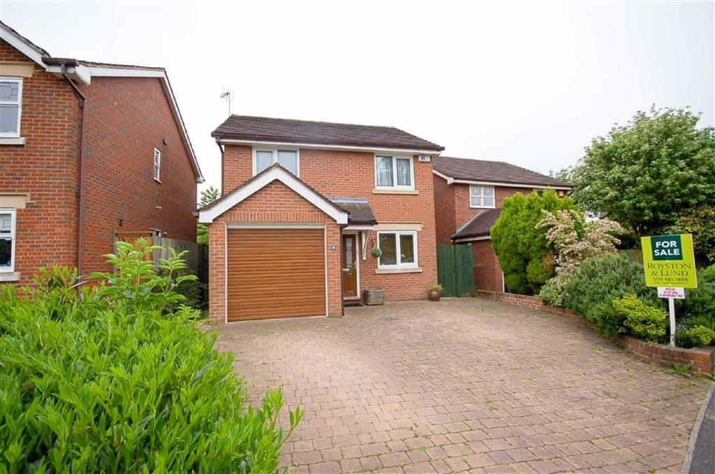 3 Bedrooms Detached House for sale in Rossett Close, Gamston