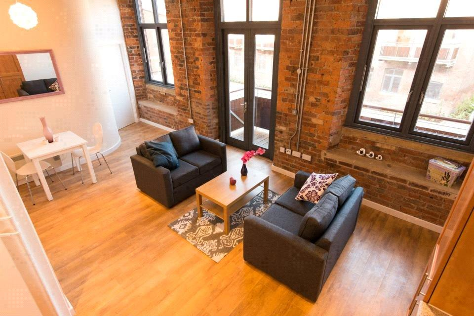 1 Bedroom Flat for sale in Worsted House, East Street, Leeds, West Yorkshire, LS9