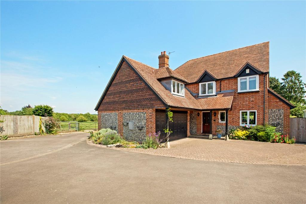 5 Bedrooms Detached House for sale in The Rookery, Peasemore, Newbury, Berkshire, RG20