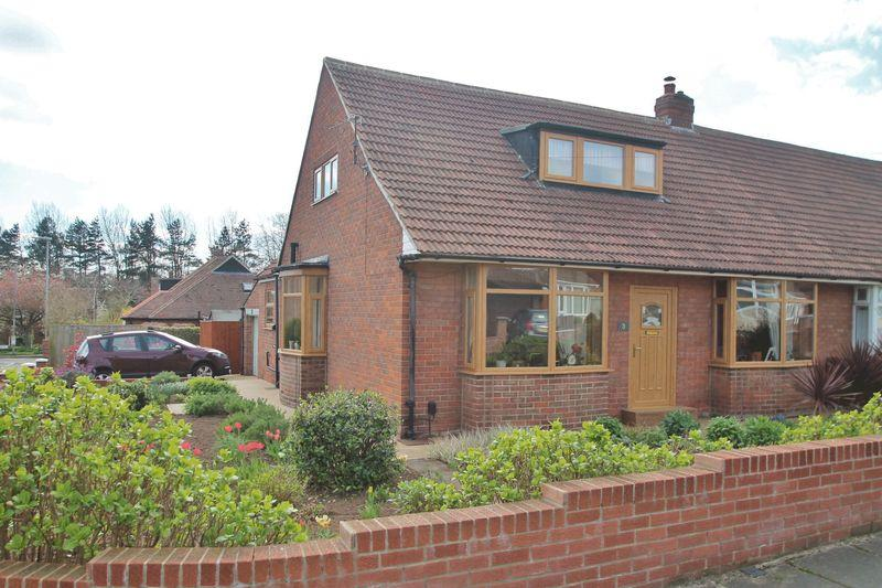 2 Bedrooms Semi Detached Bungalow for sale in Wilmire Road, Wolviston Court