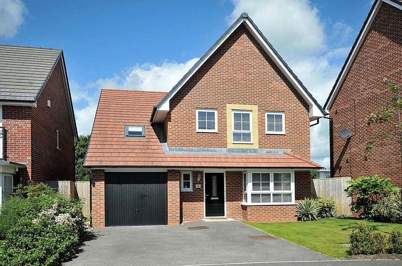 5 Bedrooms Detached House for sale in Silverlea Road, Cheshire Limes, Lostock Gralam
