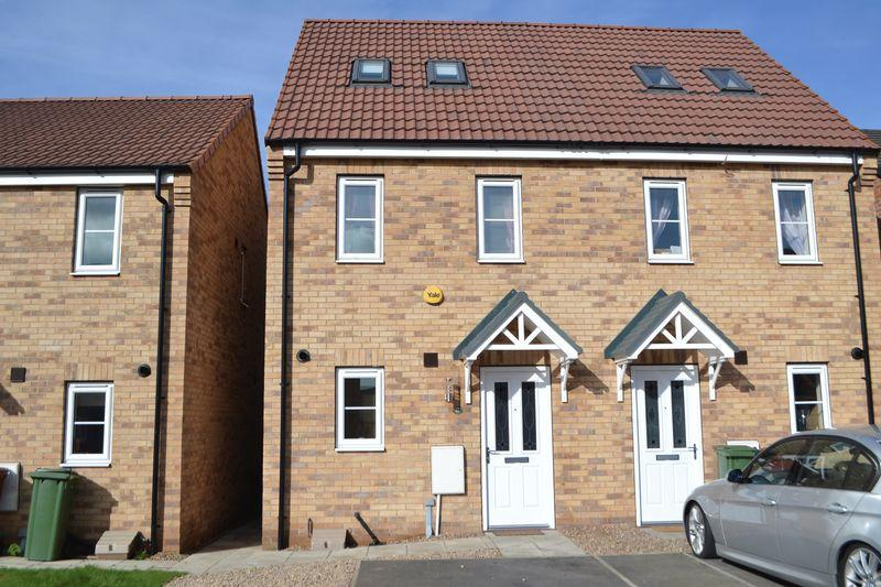 3 Bedrooms Semi Detached House for sale in Plover Way, Scunthorpe