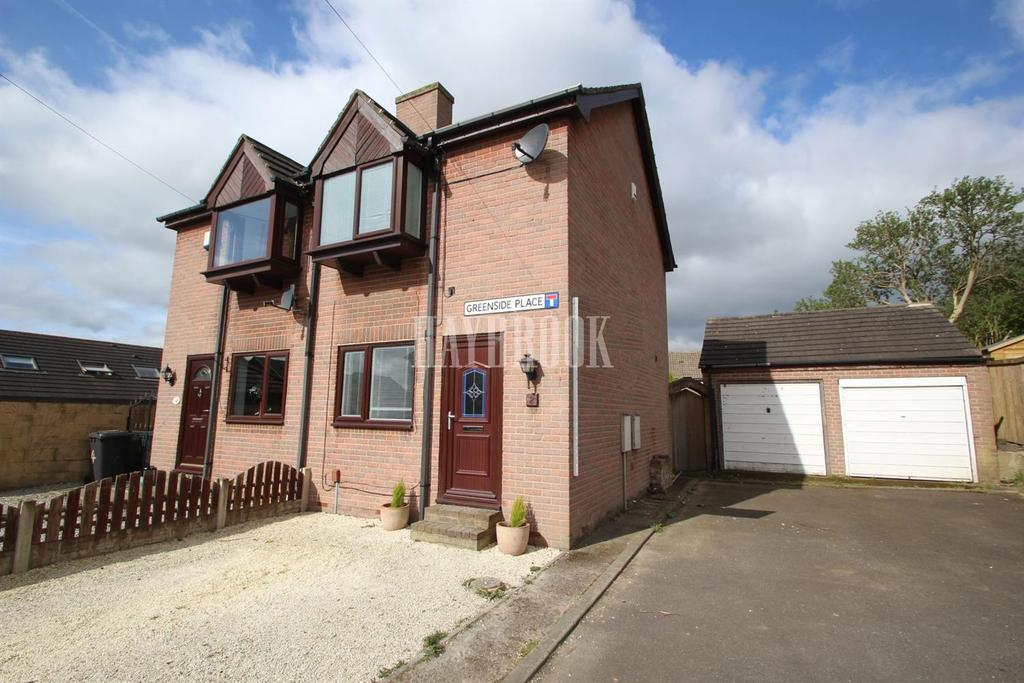 2 Bedrooms Semi Detached House for sale in Greenside Place, Mapplewell