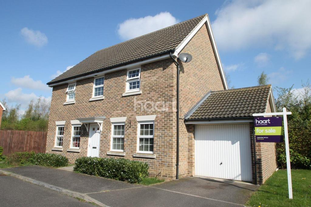 4 Bedrooms Detached House for sale in Bury St Edmunds