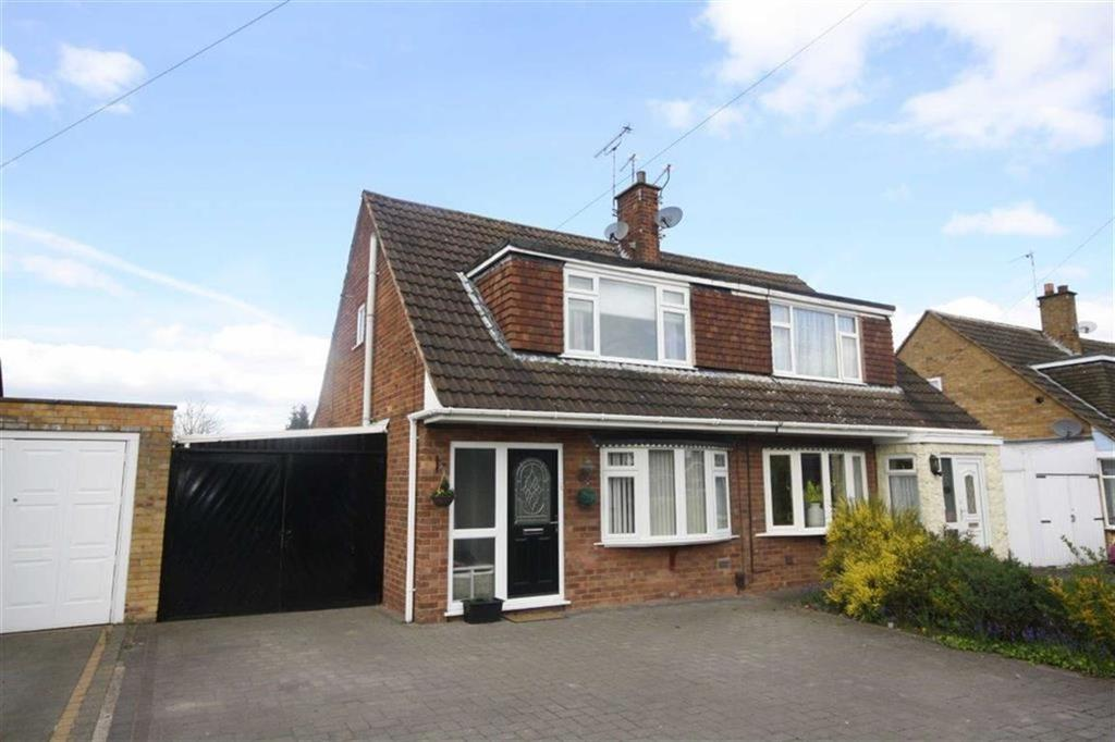 3 Bedrooms Semi Detached House for sale in Romsey Avenue, Weddington, Nuneaton