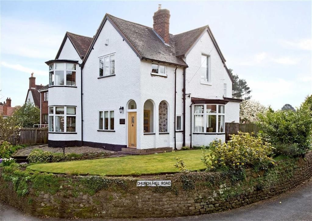 5 Bedrooms Detached House for sale in The Corner House, 26, Stockwell Road, Tettenhall, Wolverhampton, West Midlands, WV6