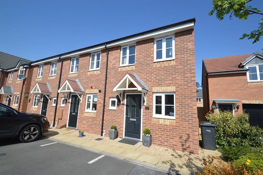 2 Bedrooms Terraced House for sale in 16 Asquith Close, Shrewsbury SY1 4NW