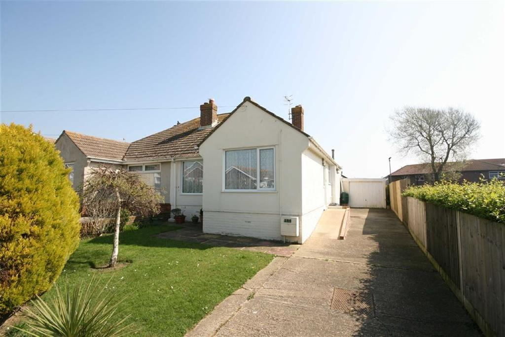 2 Bedrooms Semi Detached Bungalow for sale in Sutton Avenue North, Peacehaven