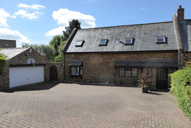 4 Bedrooms End Of Terrace House for sale in Wootton Hill Farm, East Hunsbury, Northampton, NN4