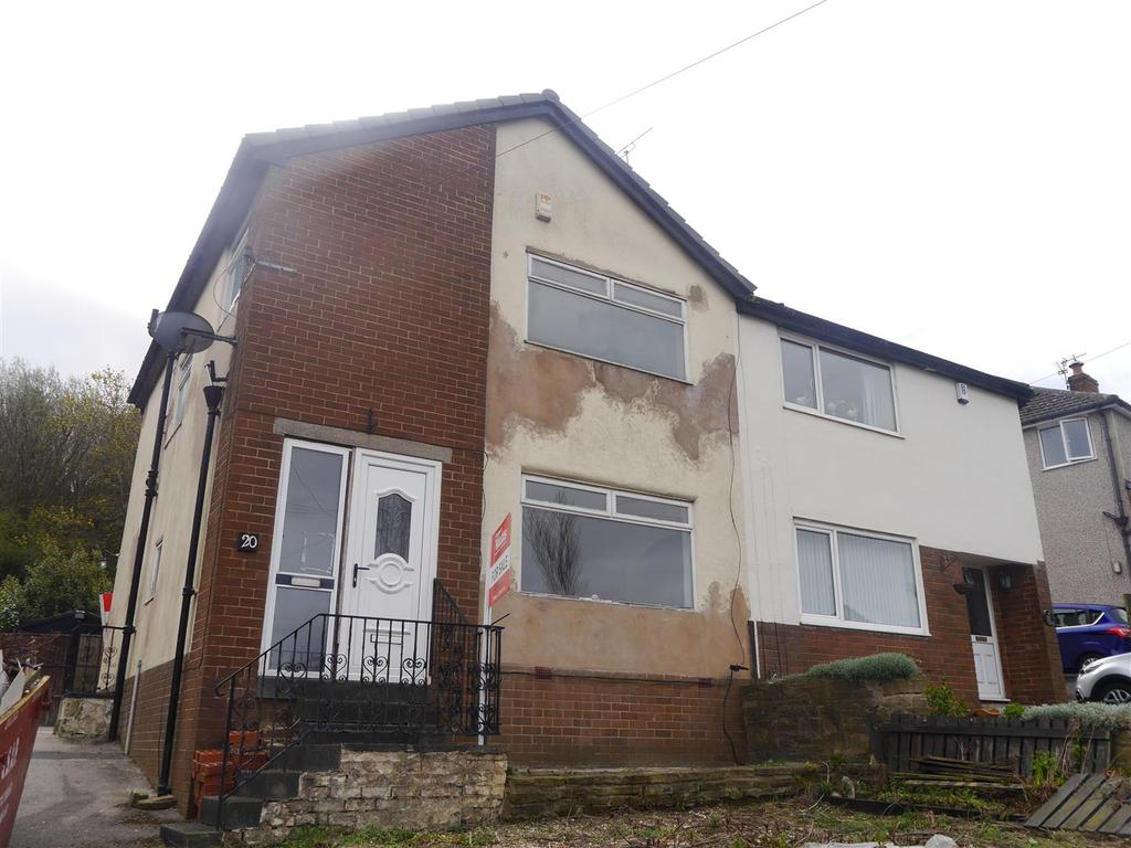 3 Bedrooms Semi Detached House for sale in Ascot Drive, Horton Bank Top, Bradford, BD7 4NN