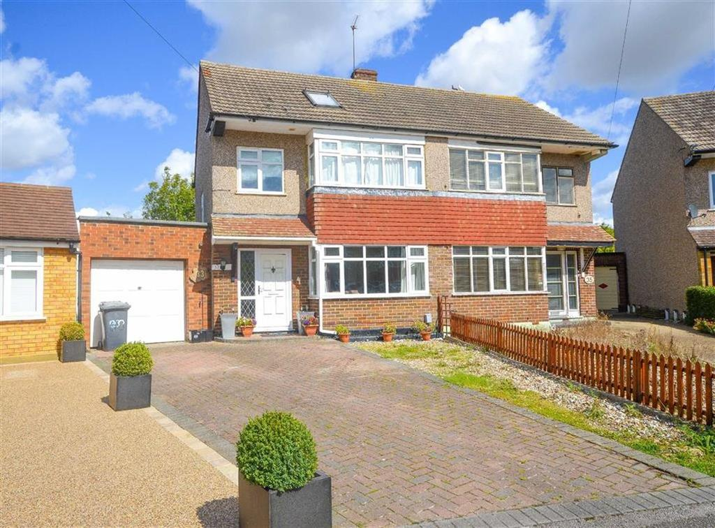 4 Bedrooms Semi Detached House for sale in Grove Road, Ware, Hertfordshire, SG12