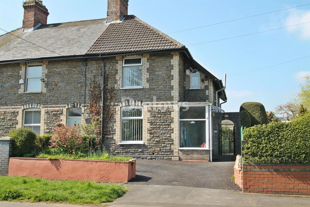 3 Bedrooms Semi Detached House for sale in Ty'r Winch Road, Old St Mellons, Cardiff
