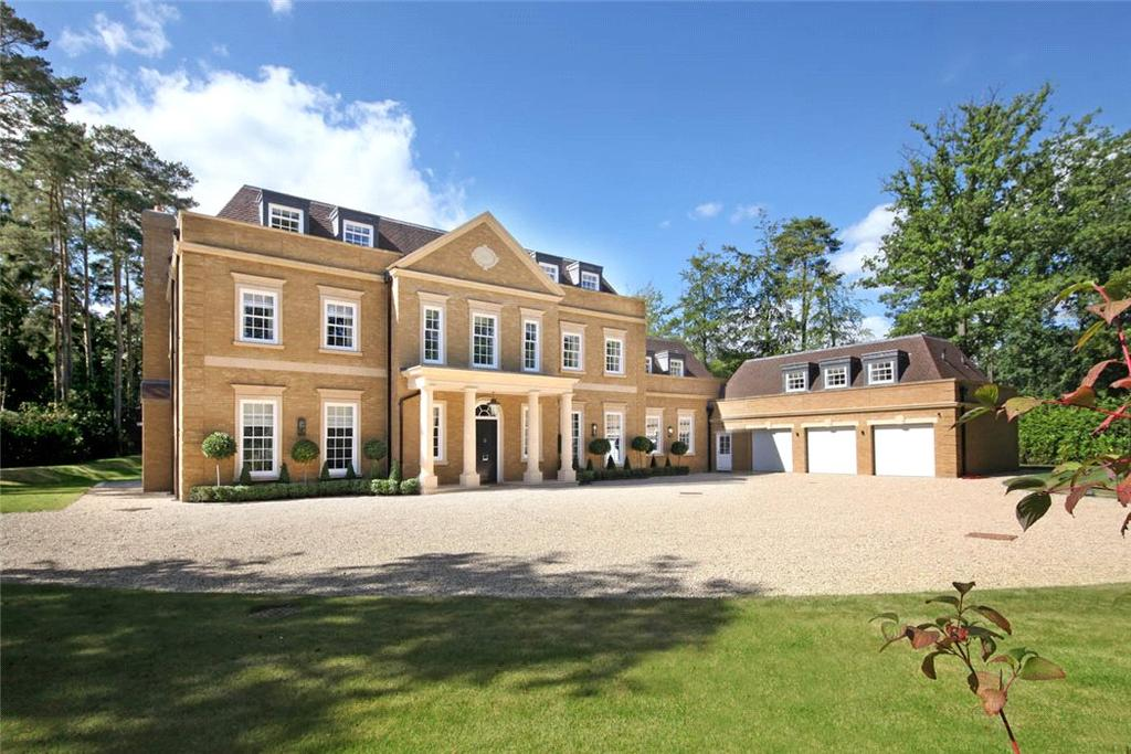 6 Bedrooms Detached House for sale in West Drive, Wentworth, Virginia Water, Surrey, SL5