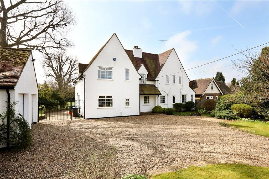 5 Bedrooms Detached House for sale in Hempstead Lane, Potten End, Berkhamsted, Hertfordshire, HP4