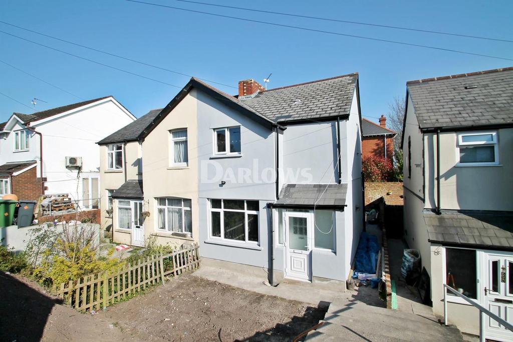 2 Bedrooms Semi Detached House for sale in Newport Road, Rumney, Cardiff