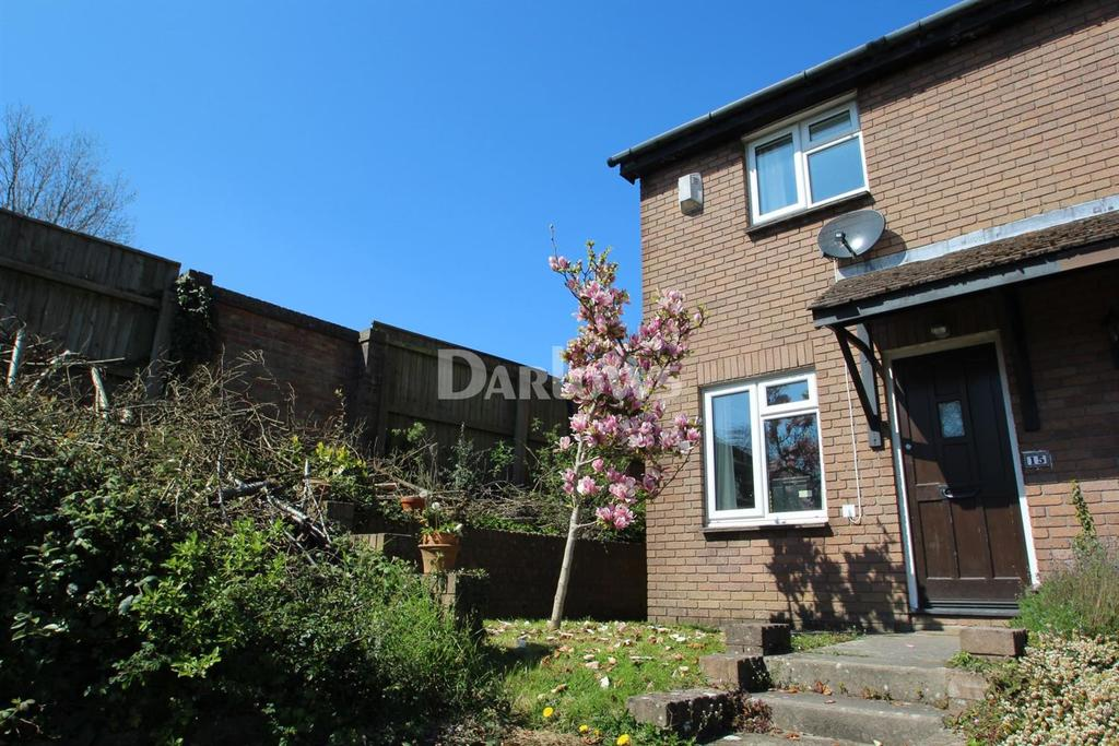 2 Bedrooms End Of Terrace House for sale in Glyn Simon Close , Danescourt , Llandaff