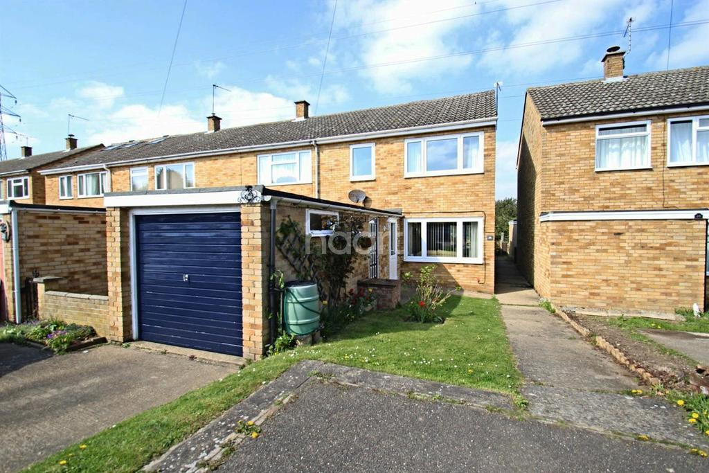 3 Bedrooms End Of Terrace House for sale in Luard Way, Birch, Colchester, CO2
