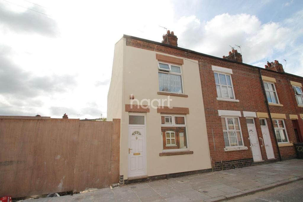 2 Bedrooms End Of Terrace House for sale in Warren Street, Leicester