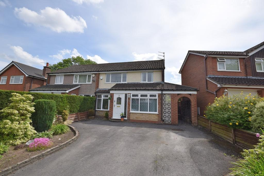 3 Bedrooms Semi Detached House for sale in Holly Road, Poynton