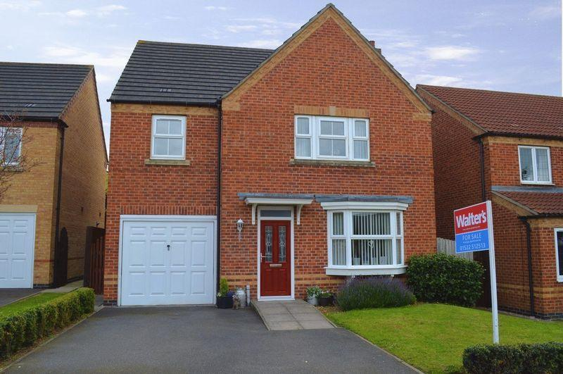 4 Bedrooms Detached House for sale in Franklin Way, Cherry Willingham
