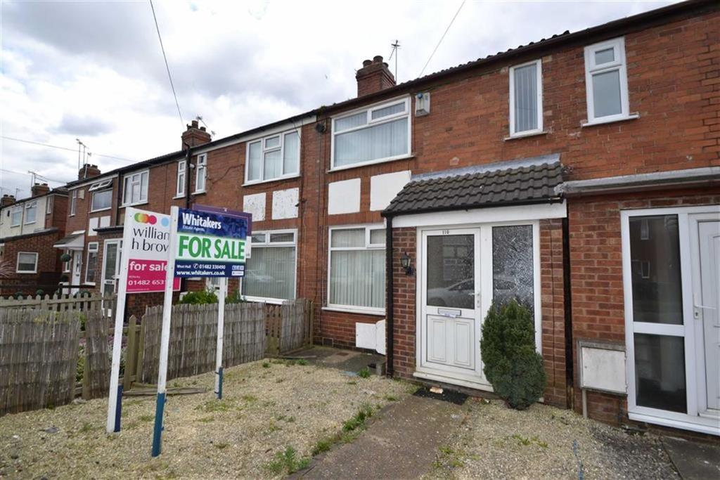 2 Bedrooms Terraced House for sale in Brooklands Road, Spring Bank West, Hull, HU5