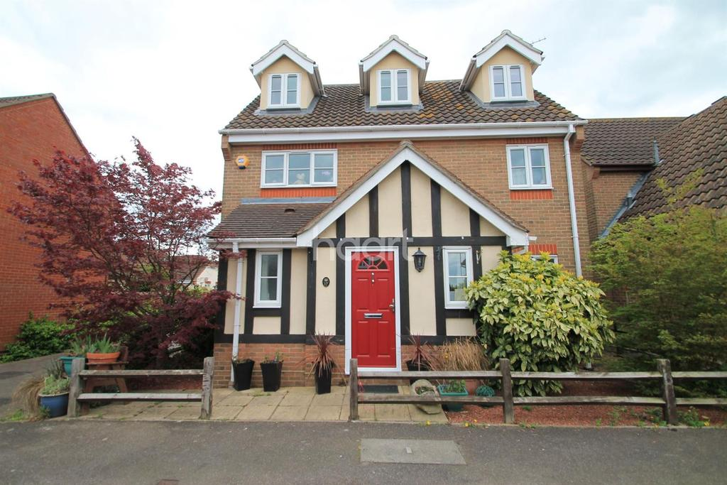 5 Bedrooms Detached House for sale in Polstead Close, Rayleigh