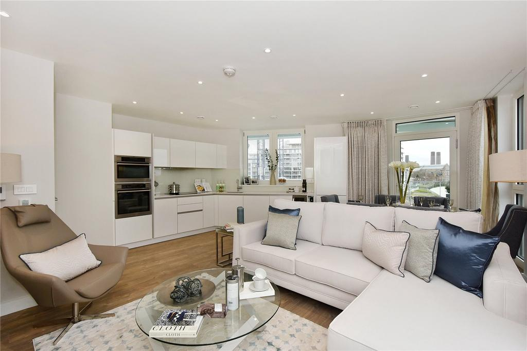 2 Bedrooms Flat for sale in Enderby Wharf, Greenwich, London