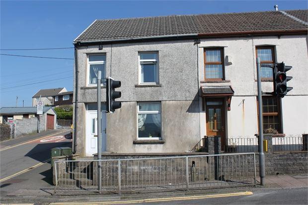 3 Bedrooms End Of Terrace House for sale in Trebanog Road, Trebanog, Porth, Mid Glamorgan. CF39 9DT