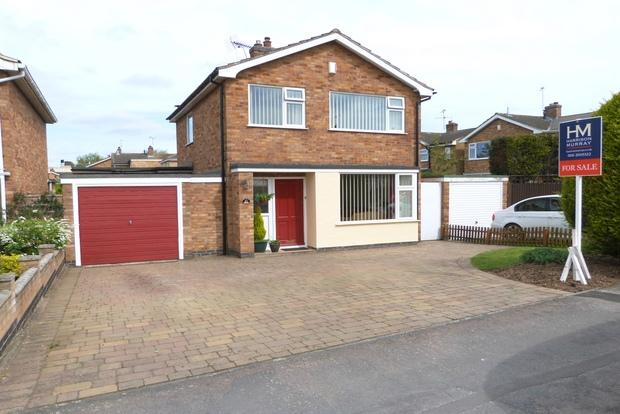 3 Bedrooms Detached House for sale in Parkstone Road, Syston, Leicester, LE7