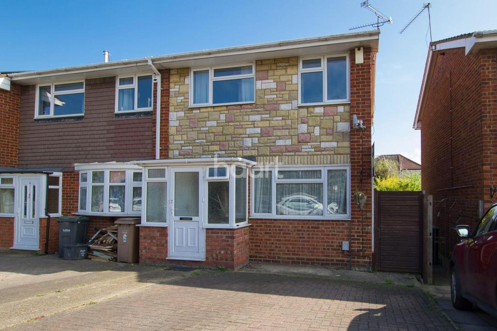 3 Bedrooms End Of Terrace House for sale in Rosedale Close, Luton