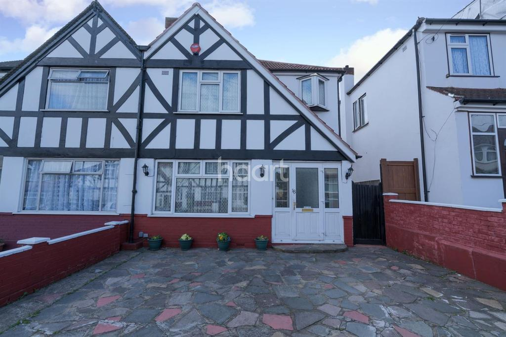 3 Bedrooms End Of Terrace House for sale in Belmont Avenue, Wembley