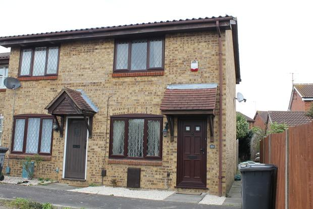 2 Bedrooms End Of Terrace House for sale in Pytchley Close, Luton, LU2