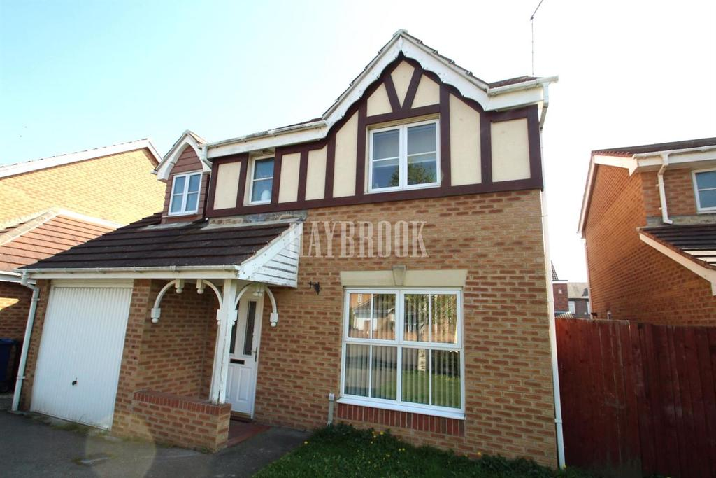4 Bedrooms Detached House for sale in Millmoor Road, Darfield
