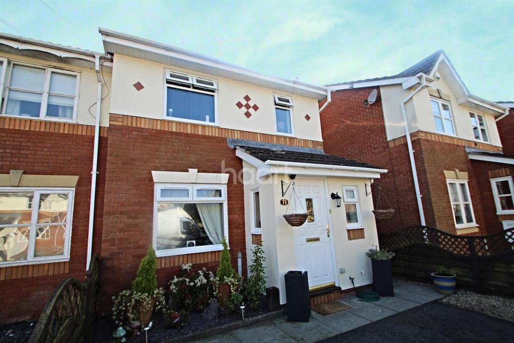 3 Bedrooms End Of Terrace House for sale in Manor Park, Duffryn, Newport